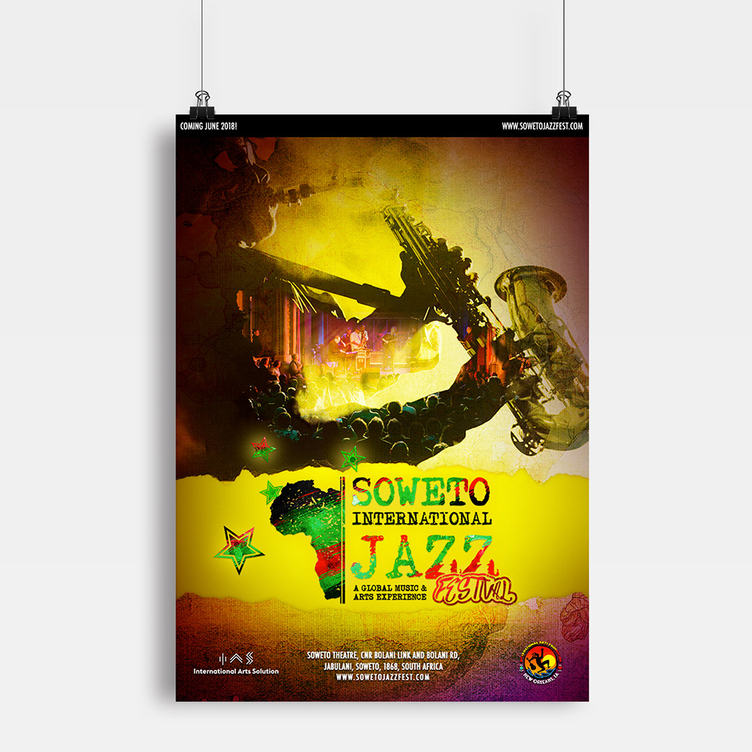 Soweto International Jazz Festival 2018 Event Poster