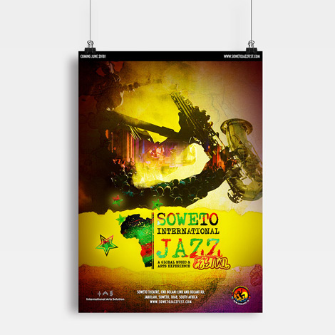 Soweto International Jazz Festival - Hamilton Ontario Graphic design