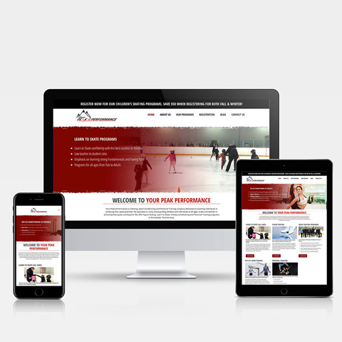 www.yourpeakperformance.ca - Hamilton Ontario Website Design