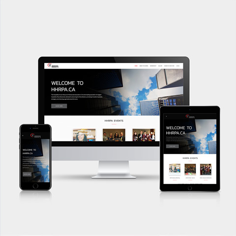hhrpa.ca - Hamilton Ontario Website Design